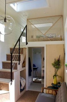 04 amazing loft stair for tiny house ideas