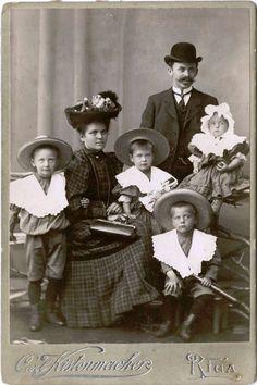 Latvia, family portrait