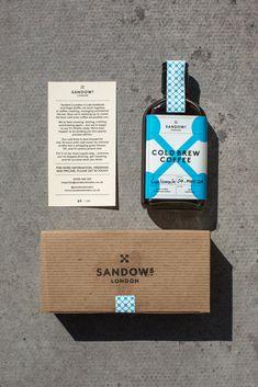 sandow's cold brew coffee #london