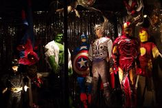 We can be Heroes. Just one day. Night shop, Manhattan, NYC, 2012, julie dudragne.