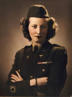 Lt. Irene Boothroyd. She landed at Utah Beach in Normandy on June 16, 1944. Lt. Boothroyd was a member of the Army Nurse Corps, participating in the drive across France and Belgium with General Patton's 3rd Army. She was called the nurse of the Battle of the Bulge as she cared for the wounded in that battle in the Ardennes during January 1945. She attained the rank of Captain and during the Korean War she cared for wounded soldiers State-side ~