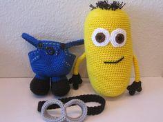 Amigurumi Minion Tarifi : Amigurumi minyon minion modelleri amigurumi crocheted toys and