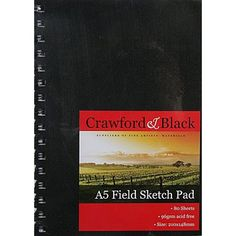 A5 Field Sketch Pad | Sketchpads at The Works
