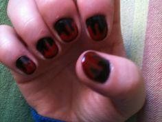 Decoración uñas de Halloween