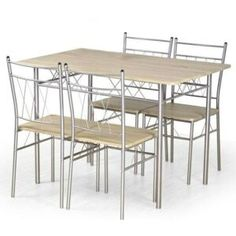 Chic Faust Dining Table 4 Chairs Dining Furniture Sets from top store Corner Dining Set, Round Dining Set, Dining Sets, Chair Height, Table Height, Dining Furniture Sets, Outdoor Furniture Sets, Pub Table Sets, Upholstered Bench