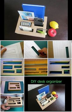 How to Make Desk Organizer from Cardboard | UsefulDIY.com