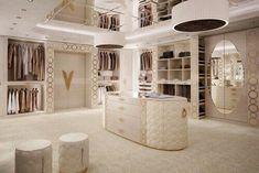 Walk In Closet Design, Closet Designs, Dream Closets, Dream Rooms, Dream Home Design, Modern House Design, Beautiful Closets, Dressing Room Design, Dressing Rooms
