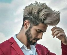 27 Stylish Haircuts for Men 2019 Mens Hairstyles With Beard, Quiff Hairstyles, Hair And Beard Styles, Haircuts For Men, Curly Hair Styles, Mens Hipster Haircuts, Hairstyle Men, Boys Haircut Styles, The Quiff