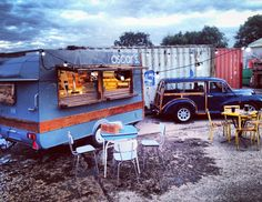 #Vintage #Caravan Bar- Oscars Bar