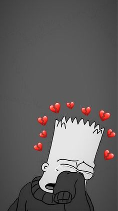 Memes sad bart new Ideas Simpson Wallpaper Iphone, Emoji Wallpaper Iphone, Cute Emoji Wallpaper, Mood Wallpaper, Cute Disney Wallpaper, Aesthetic Iphone Wallpaper, Wallpaper Backgrounds, Baby Wallpaper, Broken Heart Wallpaper
