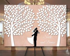 Large wedding guest book alternative, Tree Wedding Guest book canvas, Big wedding guestbook, Signature Tree Canvas 24x36 canvas,32x48 canvas