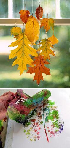 Using nature to create art