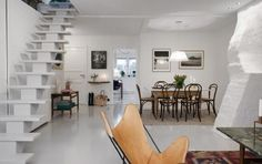 Duplex in Sweden Proves That Small Can Feel Spacious