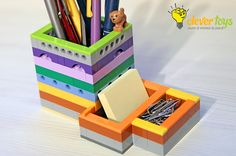 LEGO Pencil Holder | LEGO Christmas Gift | CleverToys