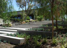 SQLA Inc. // West Hills Cafe Commercial Landscape Design, West Hills, Garden, Garten, Lawn And Garden, Gardens, Gardening, Outdoor, Yard