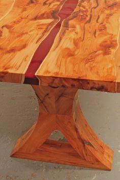 Table Bases, Table Legs, Diy Dining Table, Resin Uses, Bed Bench, Bespoke Furniture, Resins, Resin Art, Furniture Making