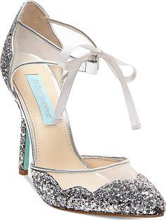 Blue by Betsey Johnson Stela Evening Sandals