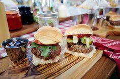 Juicy Slider Bar Recipe by Giada De Laurentiis @gdelaurentiis http://www.giadadelaurentiis.com/recipes/169/juicy-slider-bar