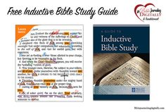 free-inductive-bible-study-guide