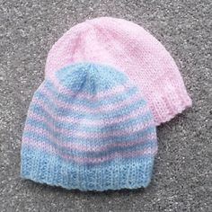 premie baby hats Ravelry: Little Premie Hat pattern by Esther Kate Baby Hat Knitting Patterns Free, Hat Patterns To Sew, Baby Hats Knitting, Crochet Baby Hats, Knitted Hats, Crochet Patterns, Knitting Squares, Knitted Booties, Newborn Knit Hat