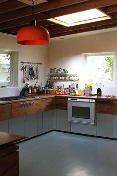Heinz & Veroniques Mid-Century Home + Prefab Cabin + Studio — House Tour