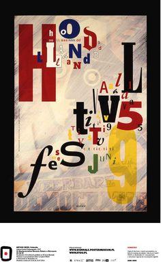 Anthon Beeke, Netherland - Holland Festival Designography, 1995 #50designers50posters50mbp #STGU #AMS #ASP