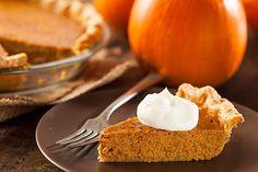 Recipes Blog: Pumpkin Pie with Cinnamon Whipped Cream