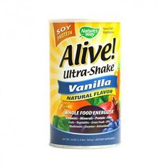 Now on Familyherb.com  Alive! Ultra-Shake is nutrition you can feel - packed with vitamins minerals fruits vegetable protein fiber green foods omega 3/6/9 fatty acids mushrooms antioxidants enzymes and more!  #lifting #fitness #workout #gym #bodybuilding #fitfam #weights #gains #muscle #weightlifting #powerlifting #vitamins #healthy #health #nutrition #minerals #supplements #protein #energy #weightloss #proteinshake #gymlife #girlswholift #lift #strength #muscles #abs #weight #gymtime…