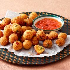 Pimiento-Cheese Hush Puppies
