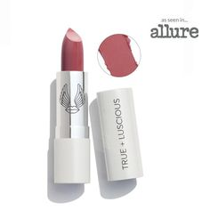 Ultra- hydrating Super Moisturizing Lipstick | True + Luscious Orange Punch, Dry Lips, Just Peachy, Makeup Brands, Pink Candy, Makeup Kit, Vintage Roses, Hyaluronic Acid, Lip Balm