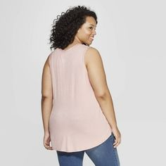 fef01f47f11 Women s Plus Size Do All Things with Kindness Scoop Neck Tank Top - Grayson  Threads (