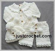 Ravelry: Baby crochet pattern JC119A pattern by Justcrochet Designs