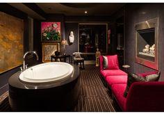 master bath, tub, sitting room