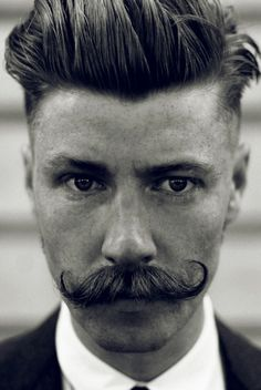 Providing premium moustache and beard grooming products for men. Handlebar Mustache, Beard No Mustache, Mustache Growth, Bart Styles, Hair And Beard Styles, Facial Hair Styles, Men's Grooming, Haircuts For Men, Freckles