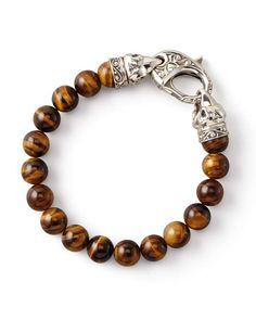 Love the Stephen Webster Tiger's Eye Bead Bracelet, 10mm on Wantering.