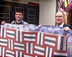 "Quilts of Valor   Documenting the work of the Quilts of Valor Foundation, which provides quilts to America's wounded veterans. Included: remarks from founder Catherine Roberts; a ""Weekend of Valor"" in Huntley, Ill.  duration: 120 min  details:"