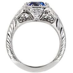 Design 2855 - Knox Jewelers - Minneapolis Minnesota - Filigree Engagement Rings - Large Image