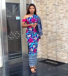 50 Latest Ankara Style Designs For 2019 (Updated) Latest Ankara Dresses, Ankara Long Gown Styles, Ankara Styles For Women, Beautiful Ankara Styles, Latest Ankara Styles, Ankara Gowns, African Dresses For Women, African Print Dresses, African Attire