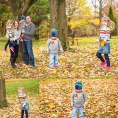 Simons Family Fall Shoot | London, Ontario | Springbank Civic Garden Complex by Roman Hidalgo Photography