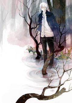 /Ginko Mushishi/#639039 - Zerochan | Artland | Yuki Urushibara