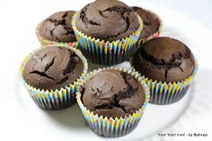 Chocolate cupcakes made with avacado. Turned out exactly as pictured and taste pretty good. No im not converting to a vegan lifestyle.....just needed to use up some avacado.