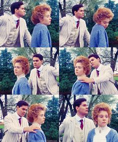 Gilbert Blythe: Maybe you don't think I'm good enough for you now, but I will be someday.       Anne Shirley: No, Gil you're a great deal too good for me. But you want someone who'll adore you. Someone who'll be happy just to hang on your arm and build a home for you. I wouldn't.       Gilbert Blythe: Anne, that's not what I'm looking for at all.       Anne Shirley: We'll end up like two old crows fighting all the time. I know I'd be unhappy and I'd wish we'd never done it.