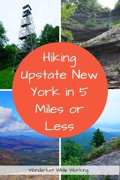 Looking for some easy, beginner's hikes in New York? Try hiking Upstate New York with these short miles) trails in the Catskills and Adirondacks. New York Vacation, Summer Vacation Spots, New York Travel, Usa Travel, Vacation Ideas, Hiking Club, Climbing Outfits, Hiking Training, Lake George Village