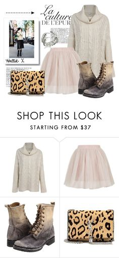"""Baby It's Cold Outside!"" by hattie4palmerstone ❤ liked on Polyvore featuring By Zoé, Topshop, Frye, Yves Saint Laurent, Bernard Delettrez, topshop, saintlaurent, zappos and 2020ave"