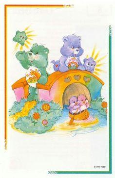 The rare Environmental Care Bear edition.