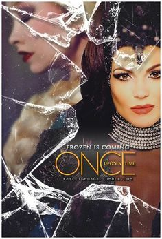 #OnceUponATime #Frozen #EvilQueen OMGALFHGFHASGFKHGDSFKDSHJGF!!!! i AM FREAKING OUT HERE!!!!!!! AFJHAGHALGHAFKH!!!!!