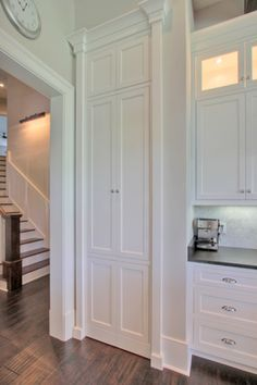Palmetto Cabinet Studio - kitchens - hidden pantry, hidden pantry doors, disguised pantry, disguised pantry doors, walk in pantry, hidden walk in pantry, hidden kitchen pantry,