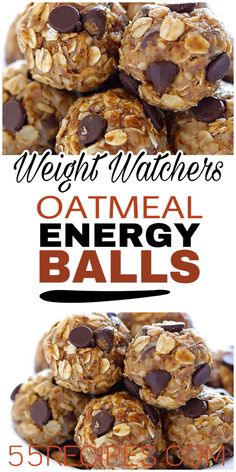 These delicious Oatmeal Energy balls are the perfect healthy snack. Simple to make and so tasty.. #weightwatchers #oatmeal #energy #energyballs #weight_watchers