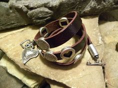 The Holidays are just around the corner! Get a head start with my handcrafted leather wraps!