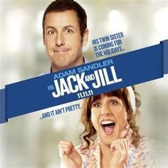Jack and Jill....movie night at the aunts doing wedding stuff...gotta say this is hilarious!!!